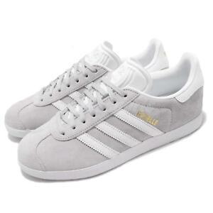 999d366fbe94c Image is loading adidas-Originals-Gazelle-W-Grey-White-Women-Casual-