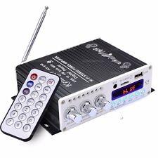 HY-V10 FM/MP3 Audio Speaker Car Bluetooth Amplifier HiFi Bass Digital Player BLA