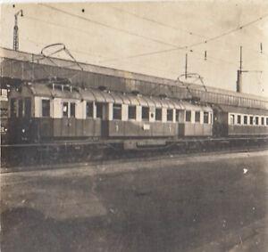 Grosses Soldes Orig.foto Ca.5x4cm Locomotive électrique (g210) Correspondant En Couleur
