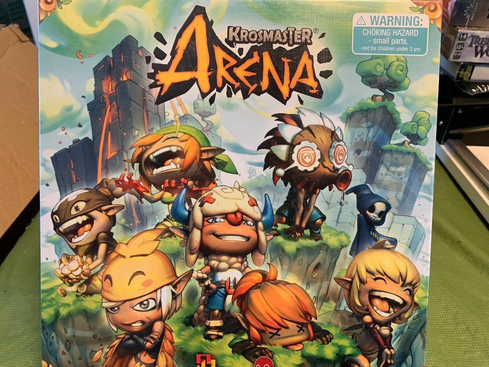 Krosmaster Arena Miniature Game - NEW SEALED