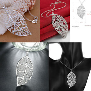 Women-Special-Leaves-Leaf-Sweater-Pendant-Necklace-Ladies-Long-Chain-Jewelry
