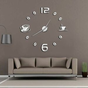 Cafe-Wall-Clock-Watch-Coffee-Shop-Decorations-DIY-Frameless-Quartz-Needle-Clocks