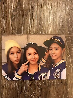 Twice 2nd Album Page Two Cheer up Jeongyeon Official Photocard