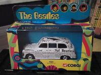 The Beatles Newspaper Taxi Corgi Boxed 2000