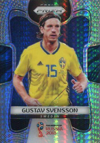 PRIZM WORLD CUP 2018 Hyper parallèle Base Carte #236 Gustav Svensson-Suède