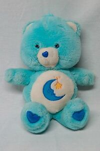 Care Bear Bedtime Moon and Star Light Blue Stuffed Animal Plush