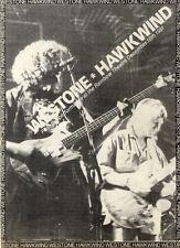 23/1/1982Pg28 Concert Advert 7x5 Westone & Hawkwind