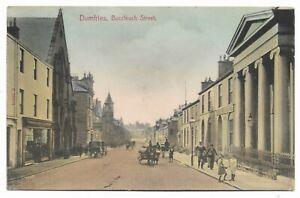 POSTCARDS-SCOTLAND-DUMFRIESSHIRE-DUMFRIES-PTD-Buccleuch-Street