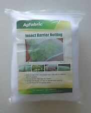 Agfabric 5ftx50ft Mosquito Netting Bug Insect barrier Bird Net Barrier Hunting