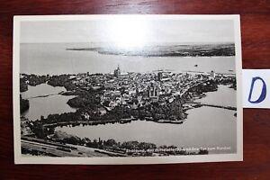 Carte Postale Vue Carte Mecklenburg Vorpommern Stralsund Le Médiévale-he Fr-fr Afficher Le Titre D'origine