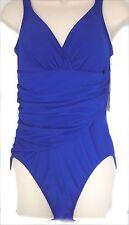 New DreamShaper by Miraclesuit Ecstasy 1-piece Swimsuit show control women sz 10