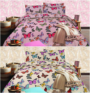 Butterfly-Design-Premium-Quality-Printed-Duvet-Quilt-Cover-Bedding-Set-All-Sizes