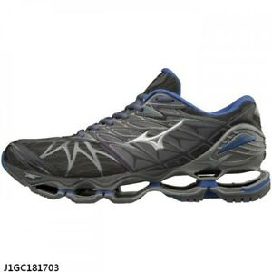 100% authentic e66bf eecf6 Image is loading Mizuno-Wave-Prophecy-7-Nova-Grey-Blue-Men-