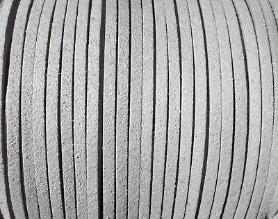 De 10 a 180 metros Antelina 3mm cinta cordon VERDE PURPURINA pulseras ANT3-17