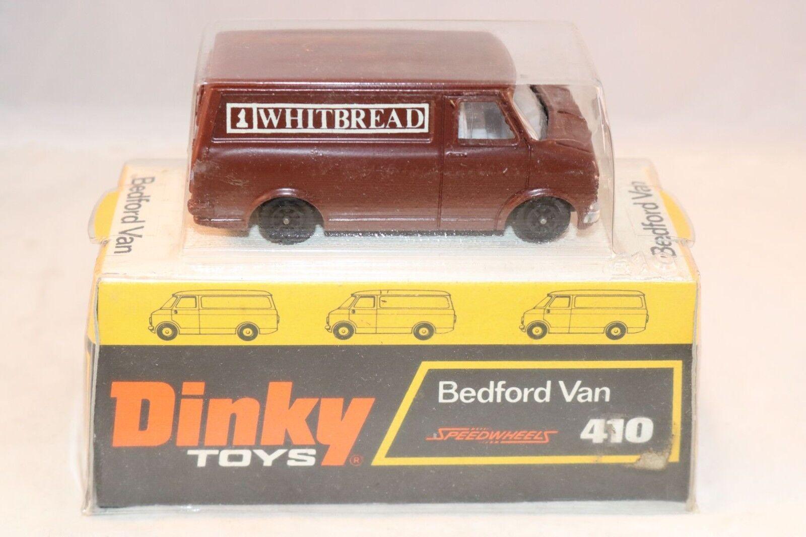 Dinky 410 Bedford Van biancabread Promotional very near mint in near mint box