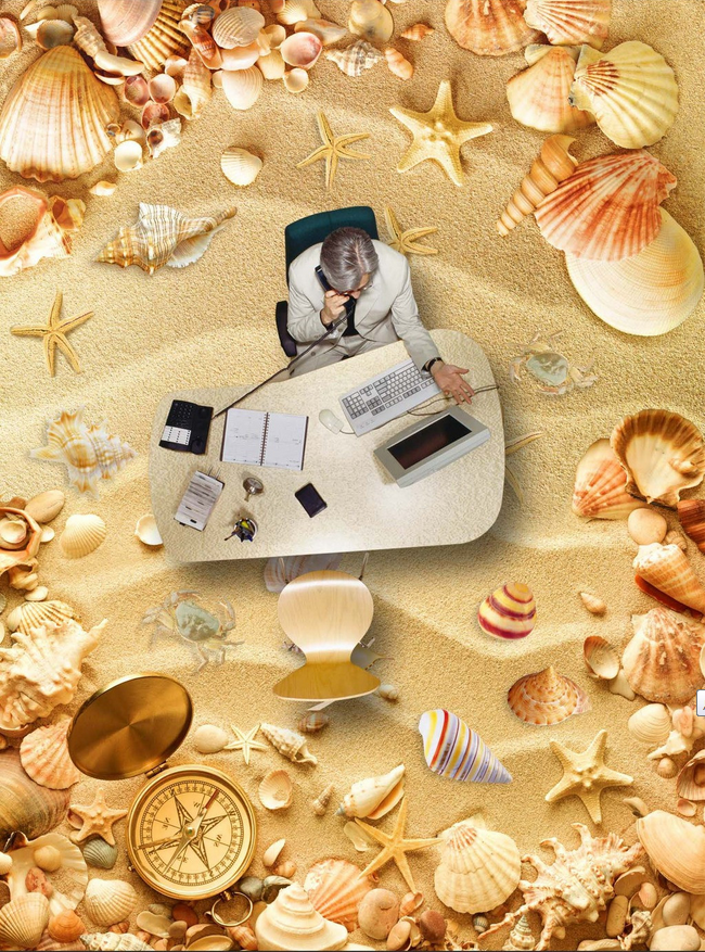 3D 3D 3D Beach Shellfish 467 Floor WallPaper Murals Wall Print Decal AJ WALLPAPER CA 41a8b4