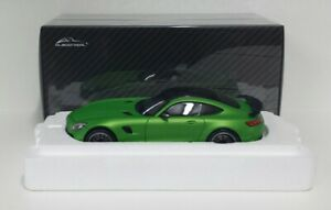 ALMOST-REAL-1-18-MERCEDES-AMG-GTR-2017-GREEN-MODELLINO-DIE-CAST-METALLO-APRIBILE