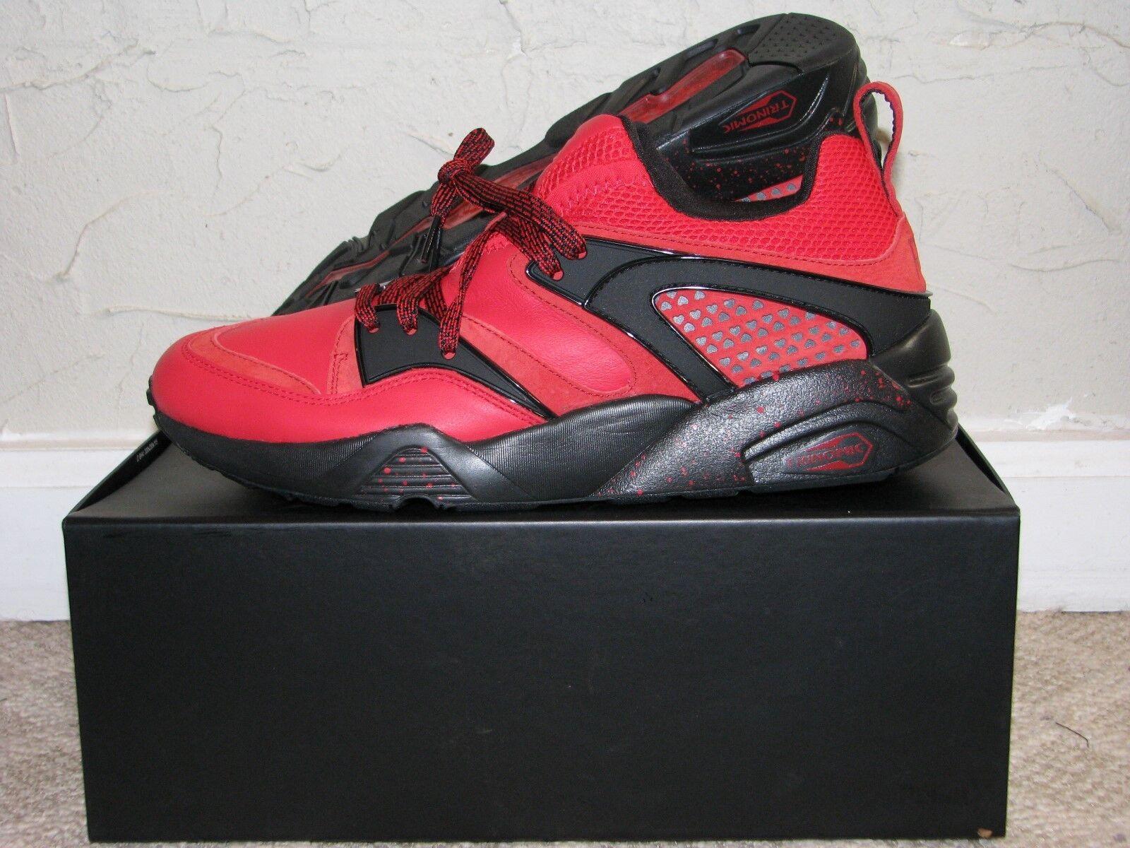 Rise NYC x PUMA Blaze Of Glory Red/Black Mens Comfortable