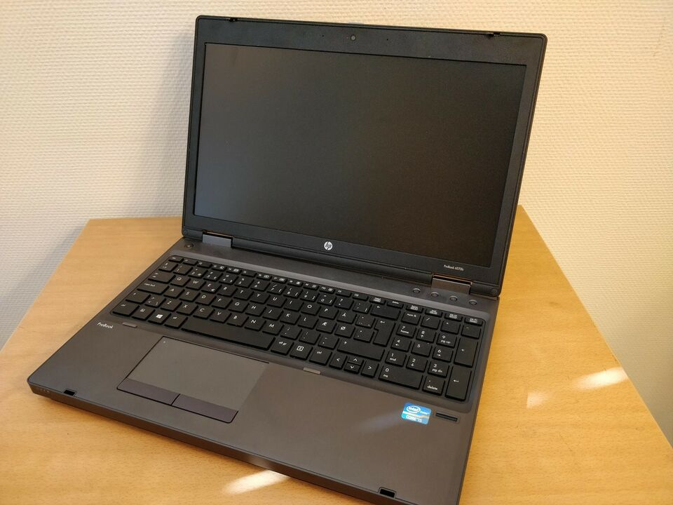 HP Probook 6570b, Intel i5 - 3210M GHz, 4 GB ram