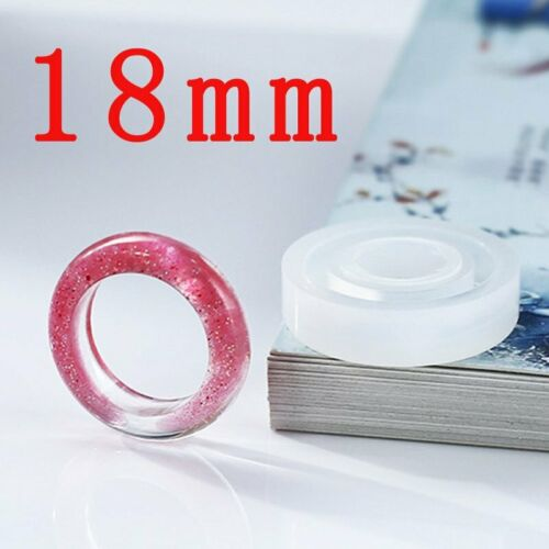 Bookmark Pendant Ring Silicone DIY Mold Epoxy Resin Jewelry Transparent Mold