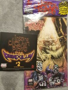 Insane Clown Posse  - The Pendulum 2 Comic Book & CD set axe murder boyz amb icp