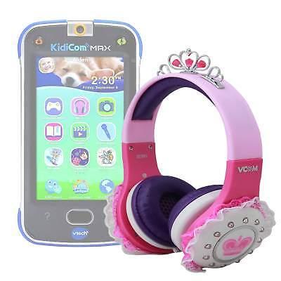 Princess' Tiara Headphones in Pink & Purple for VTech Kidicom Max