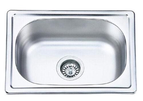 Edelstahl Küchenspüle Einbauspüle Küchen Spüle Spülbecken Waschbecken 48x35x19cm