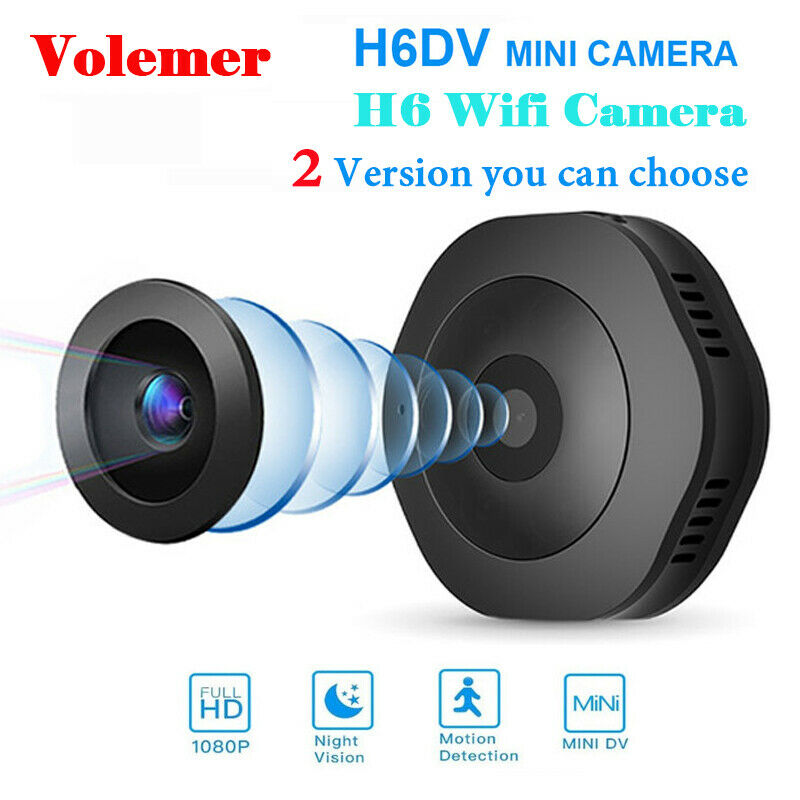 720P 1080P H6 DV/Wifi Micro Camera Night Version Mini Action Camera Camcorder 1080p 720p action camcorder camera Featured micro mini night version