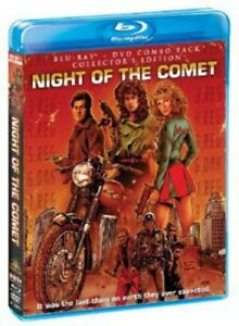 Night-of-the-Comet-Collector-039-s-Edition-New-Blu-ray-With-DVD-Collector-039-s-E