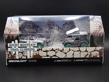 2017 GREENLIGHT GREEN MACHINE RAW CHASE ROCKY MOUNTAIN TRAIL CLIMBERS DIORAMA