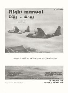 LOCKHEED-C-130B-amp-HC-130B-HERCULES-FM-USAF-amp-USCG-T-O-1C-130B-1