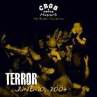 Terror - CBGB OMFUG Masters Live 6/10/04 The Bowery Collection CD