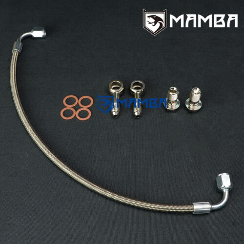 MAMBA Turbo Oil Feed  Line Kit MINI COOPER S R55 R56 R57 R58 R59 R60 07~12 UK