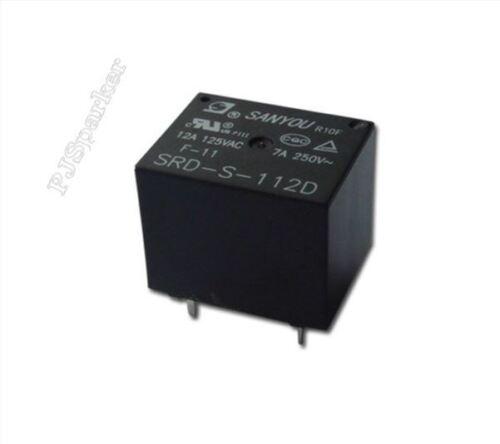 Power Relay Sanyou SRD-S-112D Mini 12V Dc New Ic pv