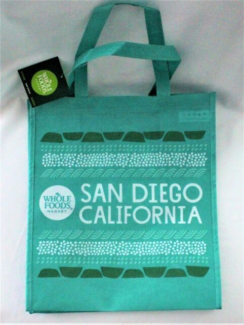 Whole Foods Market San Go Reusable Bag California Eco Friendly Tote