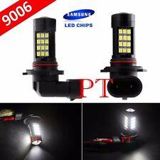 9006 HB4 Samsung LED 42 SMD White 6000K Headlight Xenon Light Bulbs Low Beam