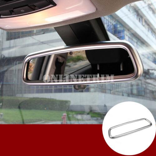 Interior Rearview Mirror Frame Cover Trim 1pcs For Jaguar XF X260 2016-2018