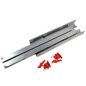Details about 18 Inch Under Mount, Full Extension, Soft Close Drawer Slide  10 Pair