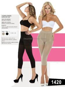 4c9fc1d542 Image is loading Women-Thermal-Capri-Body-Shaper-Pants-Style-Cocoon-