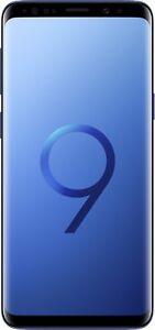 Samsung-Galaxy-S9-G960F-Single-Sim-64GB-Coral-Blue-TOP-Zustand