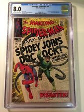 The Amazing Spider-Man #56 CGC 8.0
