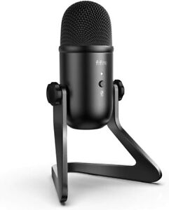 FIFINE USB Podcast Microphone for Recording Streaming on PC/Mac/Gaming (K678)