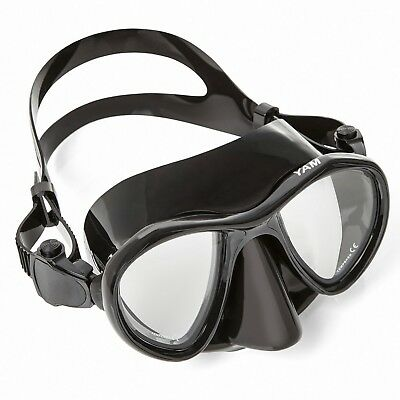 Adventure At Nature Yam Black Glass Free Dive Mask Scuba Diving & Spearfishing