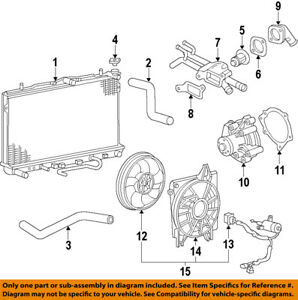 KIA OEM 09-15 Optima-Engine Coolant Thermostat 2550023010 | eBay