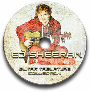 ED-SHEERAN-POP-ROCK-GUITAR-TAB-TABLATURE-SONG-BOOK-SOFTWARE-CD