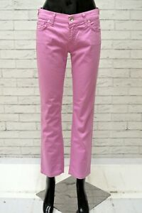 Pantalone-JACOB-COHEN-Donna-Taglia-Size-40-Jeans-Pants-Woman-Regular-Fit-Rosa