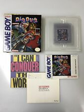 Dig Dug Nintendo Gameboy 100% COMPLETE IN BOX CIB rare Namco Pokemon Origins