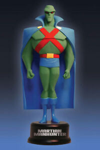Martian-Manhunter-JLA-Mini-Maquette-Statue-DC-J-039-onn-J-039-onzz-Supergirl-TV-show
