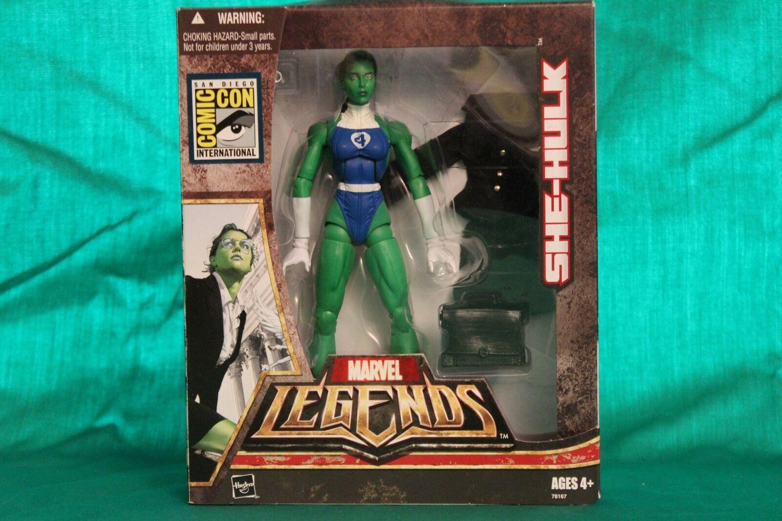 Marvel Legends She-Hulk SDCC Exclusive Box Set (2007)