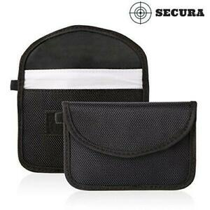 Details about Secura Car Key Signal Blocker Case RFID Signals Blocking  Large Guard Bag
